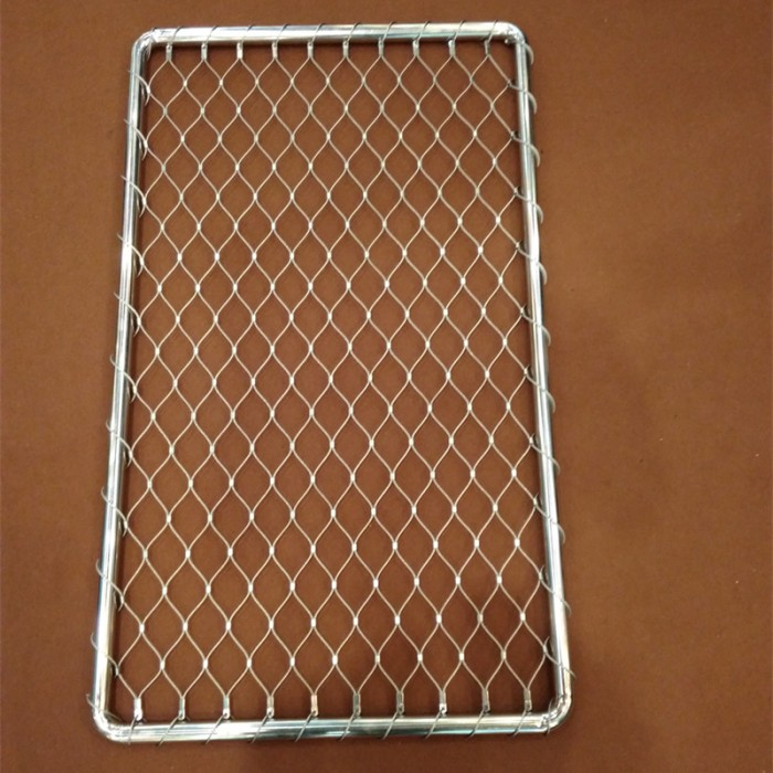 Stainless Steel Cable mesh & Tube Frame
