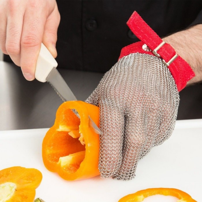 Cut Resistant Stainless Steel Mesh Glove