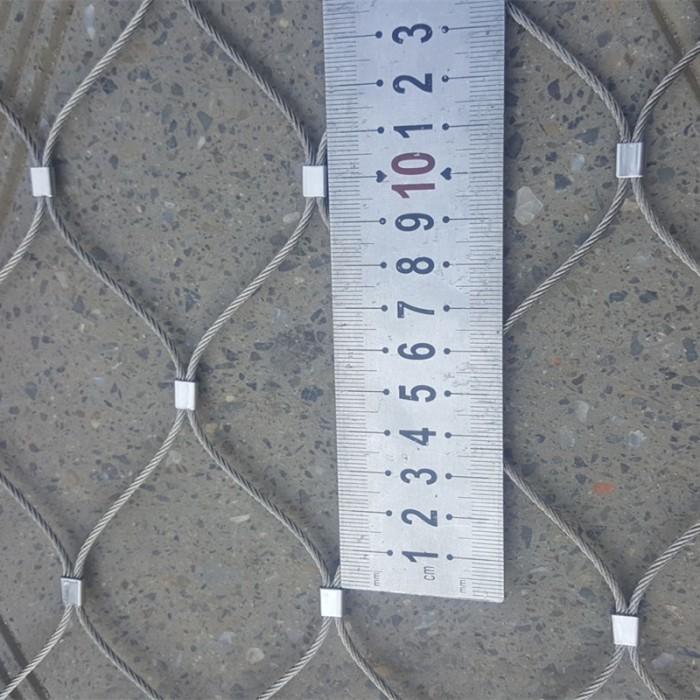 Stainless steel ferrule rope mesh