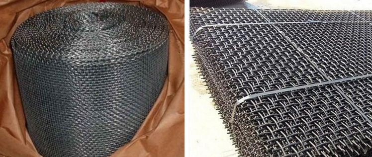 STEEL WIRE MESH CRIMPED MESH package