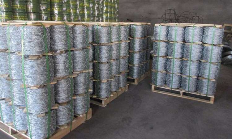 High quality PVC coated barbed wire package